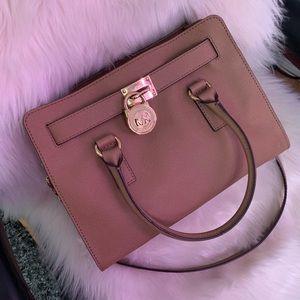 Hamilton East West Saffiano Leather Satchel bag